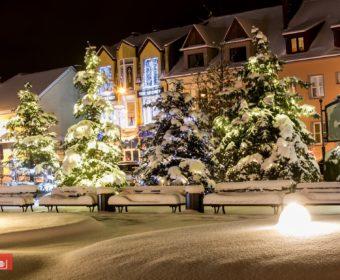 Miasto Limanowa – w zimowym plenerze